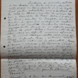 Manuscris Elena Bacaloglu, cea care infiinteaza Partidul Fascist Roman, 1926 - Autograf