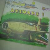 CARTI DE COLORAT, PERIOADA COMUNISTA- AVIOANE + VAPOARE - Carte de povesti