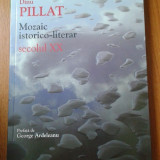 19457 DINU PILLAT - MOZAIC ISTORICO-LITERAR SECOLUL XX