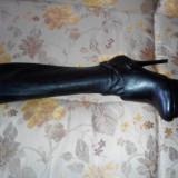Cizme elegante Guess by Marciano - Cizme dama Guess, Marime: 37, Culoare: Negru