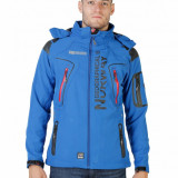 Jacheta cu gluga detasabila - Geographical Norway - art. Tambour, albastru - Geaca barbati Geographical Norway, Marime: M, L, XL