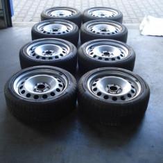 Jante tabla BMW R17 5x120 Cauciucuri iarna - Janta tabla Nespecificat, Latime janta: 7, Numar prezoane: 5, PCD: 112