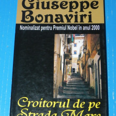 Croitorul de pe Strada Mare - Giuseppe Bonaviri - Carte Monografie