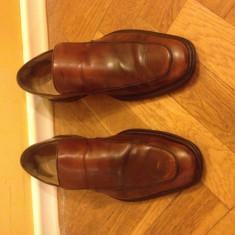 Pantofi Gucci culoare Maro 41, 5 - Pantofi barbati