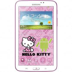Tableta Samsung Galaxy Tab3 T210 7.0 inch 1.2 GHz Dual Core 1GB RAM 8GB flash WiFi GPS Android 4.1 Hello Kitty White