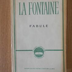 LA FONTAINE, FABULE - Carte Fabule