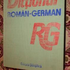 Dictionar roman - german ( 60.000 cuvinte-titlu/an 1990/1619pag)- Mihai Anutei Altele