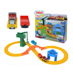 Set de joaca Thomas Salty and Crankys Cargo Drop Mattel - Masinuta de jucarie Mattel, Plastic