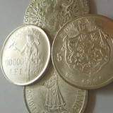 Replica Argintata Moneda 5 L 1880, 1 Thaler 1780, 500 L 1941, 100000 L 1946