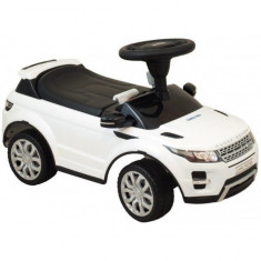 Vehicul pentru copii Range Rover White Baby Mix