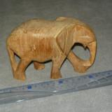 Sculptura lemn veche - elefant - vintage - antiq - 2+1 gratis - RBK18138