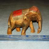 Sculptura lemn veche - elefant - vintage - antiq - 2+1 gratis - RBK18139