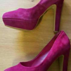 Pantofi Bufallo London originali - Pantof dama Buffalo, Marime: 40 1/3, Culoare: Lila
