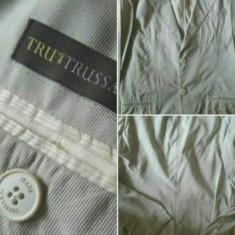 Sacou Trussardi Jeans original nou - Sacou barbati Trussardi, Marime: L, Culoare: Aqua