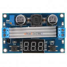 DC 100W 3-35V 12V to 3.5-35V Boost Step-up  LED Voltmeter LTC1871 (FS00980)