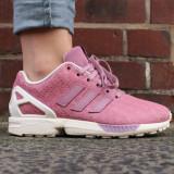 Adidasi Originali Adidas ZX Flux Wmns Pink, Autentici, Noi, Marime 36 2/3 ! - Adidasi copii, Culoare: Din imagine, Fete, Piele naturala