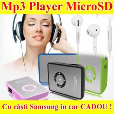 Mp3 Player cu casti Samsung, Negru