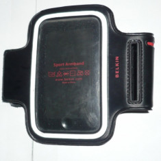 Husa IPHONE/husa pt alergare - Husa Telefon Belkin, iPhone 6 Plus, Negru