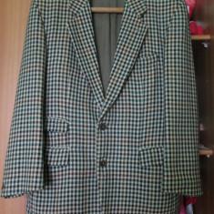 Sacou vintage Hugo Boss de bărbați - Sacou barbati Hugo Boss, Marime: 50, Culoare: Multicolor