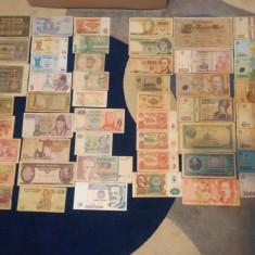 Lot bancnote (50 buc.) si lot monezi (29 buc.), Europa