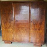 Sifonier vintage, din lemn masiv; Dulap de dormitor - Mobilier, Dupa 1950