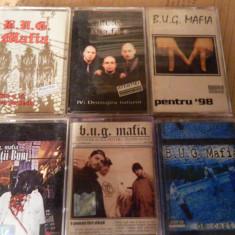 CASETE AUDIO BUG MAFIA - Muzica soundtrack