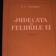 JUDECATA SI FELURILE EI-P.V.TAVANET- - Carte Drept penal