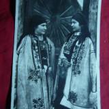 Ilustrata 2 Femei in costume Populare Transilvania, interbelica - Carte Postala Transilvania dupa 1918, Necirculata, Fotografie
