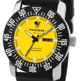 Poseidon Date Silicon Yellow - Ceas barbatesc