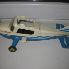 Jucarie avion Albatros air taxi AS 9, marcat playmobil-Geobra 1985.