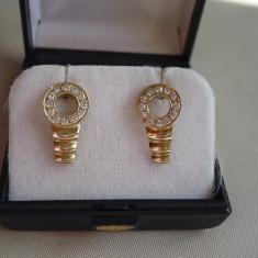 LICHIDEZ COLECTIE- CERCEI CU BRILIANTE - Cercei cu diamante
