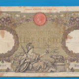 Italia 100 lire 1942 4 - bancnota europa