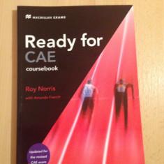 Carte engleza ready for cae coursebook roy norris cambridge advanced english - Curs Limba Engleza Altele