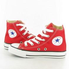 Bascheţi Converse ALL STAR rosii - Ghete barbati Converse, Marime: 36, 37, 38, 39, 40, 41, 42, 43, 44, Culoare: Rosu, Piele sintetica