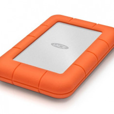 HDD Extern LaCie Rugged Mini 2 TB USB 3.0 Argintiu - Portocaliu
