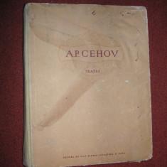 A. P. Cehov - Teatru - cu portret si ilustratii - 1954 - Carte Teatru