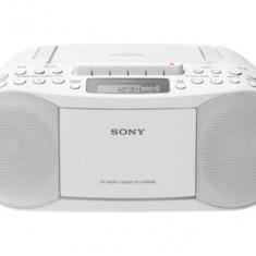 Radio-casetofon cu CD Player Sony CFD-S70 Alb - Boxe PC