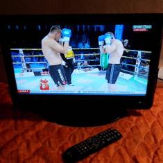 TV LCD 19 INCH TELESYSTEM PALCO + TELECOMANDA ORIGINALA - Televizor LCD, 22 inchi (56 cm), HD Ready, HDMI: 1, Slot CI: 1, USB: 1