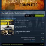 STEAM invite: Counter-Strike Complete contine CSGO, Source si Condition Zero - Jocuri PC